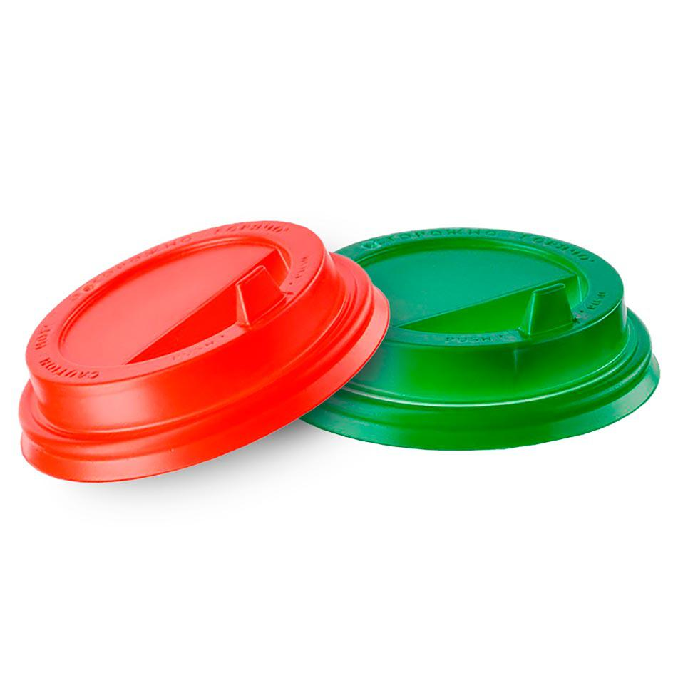 Lid for disposable cups with a diameter of mm (colored)