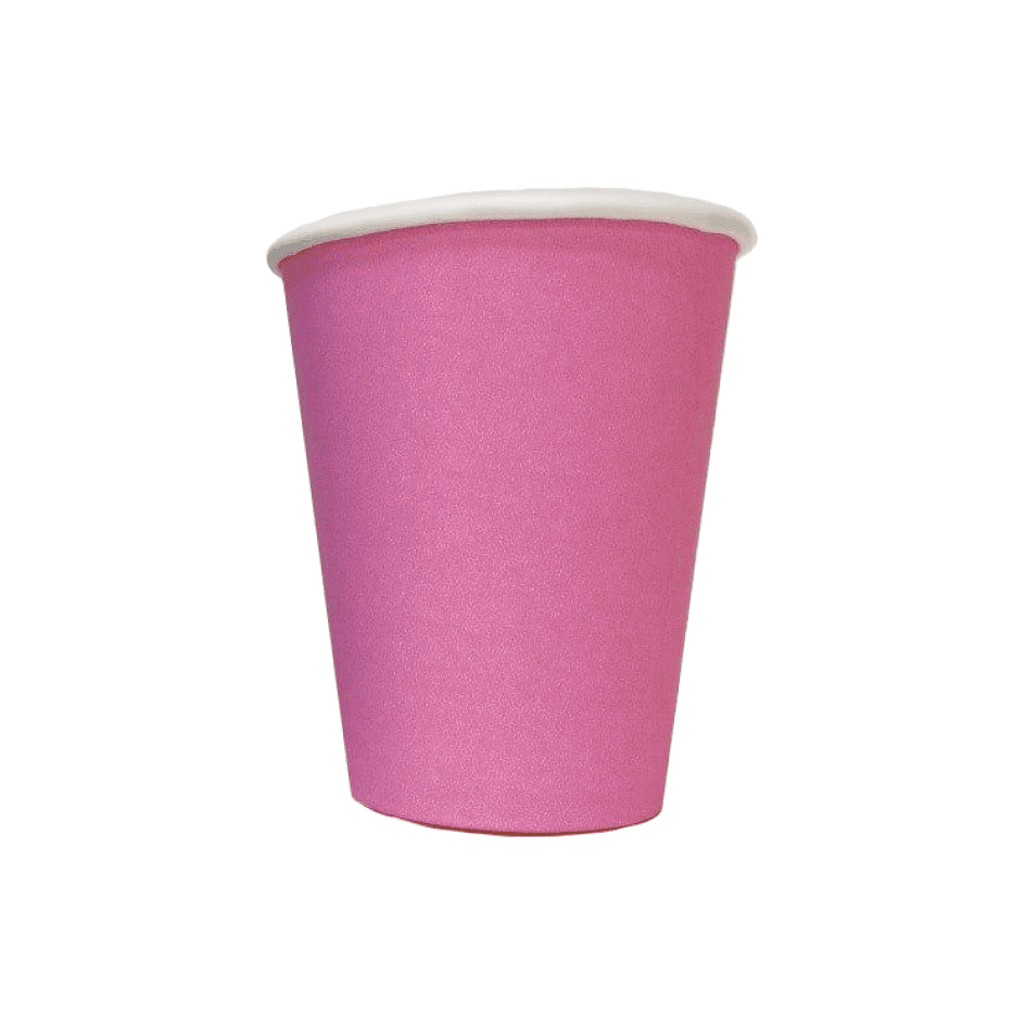 Pink single-layer cup