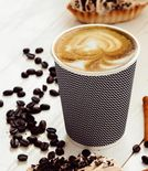 Three-layer corrugated cup black 1