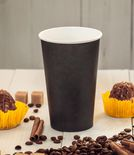 Black single-layer cup 1