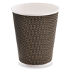 Three-layer corrugated cup 2